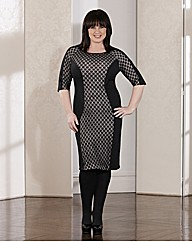Coleen Nolan Illusion Dress