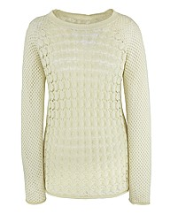 Ava Open Knit Jumper