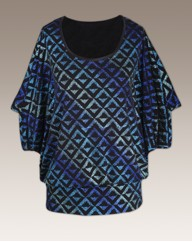 Coleen Nolan Jersey Top All Over Print