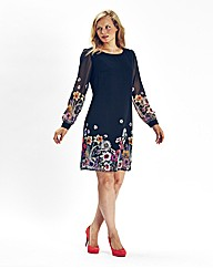 Mark Heyes Floral Print Tunic Dress