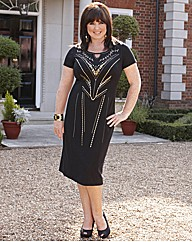 Coleen Nolan Dress With Tribal Studs