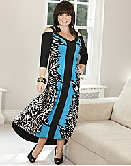 Coleen Nolan Border Maxi Dress 52in