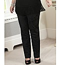 Coleen Nolan Lace Jaquard Jean
