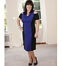 Coleen Nolan Colour Block Dress 41in