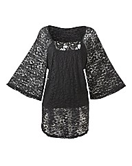 Changes Boutique Lace Tunic