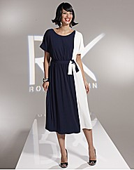 Roland Klein Colour Block Dress 43in