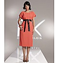 Roland Klein Crepe Dress Length 41in