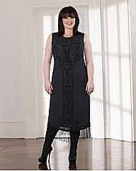 Coleen Nolan Beaded Flapper Dress