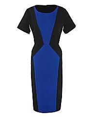 Coleen Nolan Colour Block Illusion Dress
