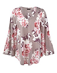 Changes Boutique Floral Print Tunic
