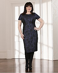 Coleen Nolan Lace Jacquard Dress