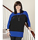 Coleen Nolan Colour Block Jersey Top