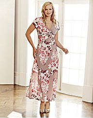 Changes Boutique Floral Print Maxi Dress