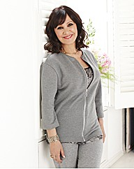Arlene Phillips Top With Zip Front