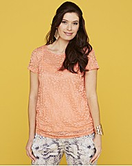 Lace T-Shirt and Cami
