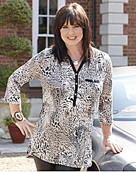 Coleen Nolan Animal Print Jersey Top