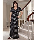 Coleen Nolan Cowl Neck Maxi Dress 52in