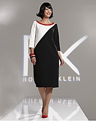 Roland Klein Block Colour Block Dress
