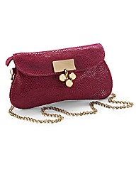 Coleen Nolan Leather Clutch Bag