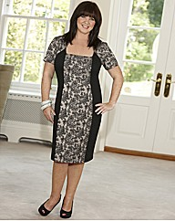 Coleen Nolan Lace Panel Dress 41in