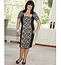 Coleen Nolan Lace Panel Dress Petite