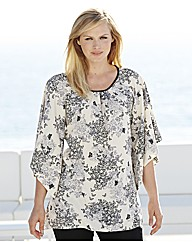 Butterfly Print Tunic