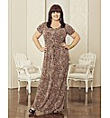 Coleen Nolan Animal Print Maxi Dress