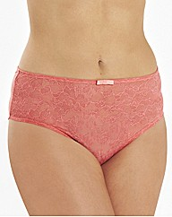 Sculptresse Pure Lace High Waisted Brief