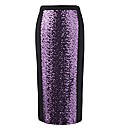 Together Boutique Sequin Pencil Skirt
