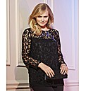 Together Boutique Embellished Lace Tunic