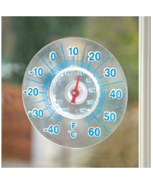 Window Panel Thermometer