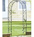 Solar Leaf Arch