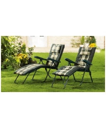 Deluxe Reclining Lounger Chair - BOGOF