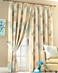 Alium Lined Curtains