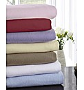 Flannelette Bedlinen Range Fitted Sheet