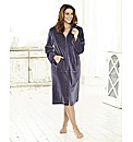Velour Zip Gown 50inch