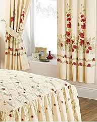 Country Diary Poppy Range Curtains