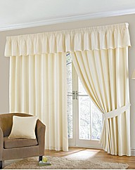 Lyncombe Lined Pencil Pleat Curtains