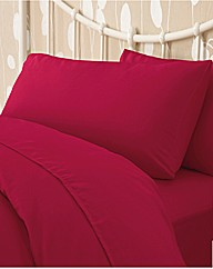 Easy Care Bedlinen Fitted Sheet