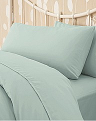 Easy Care Bedlinen Flat Sheet