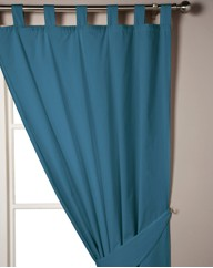 Easy Care Bedlinen Lined Curtains TabTop