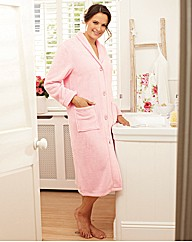 Fluffy Fleece Gown 44inch