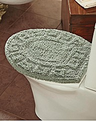 Greek Key Toilet Top
