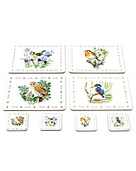 Bird Placemats and Coasters