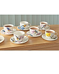 China Cups and Saucers Set 6