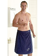 Mens Bath Wrap