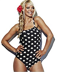 Liz McClarnon Bandeau Swimsuit