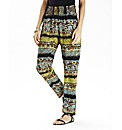 Tribal Print Beach Trouser