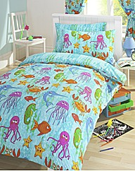 Under The Sea Duvet Cover Set