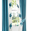 Alexa Lined Curtains & Tie Backs